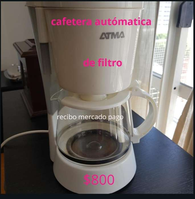 <strong>cafetera</strong> Atma, Impecable