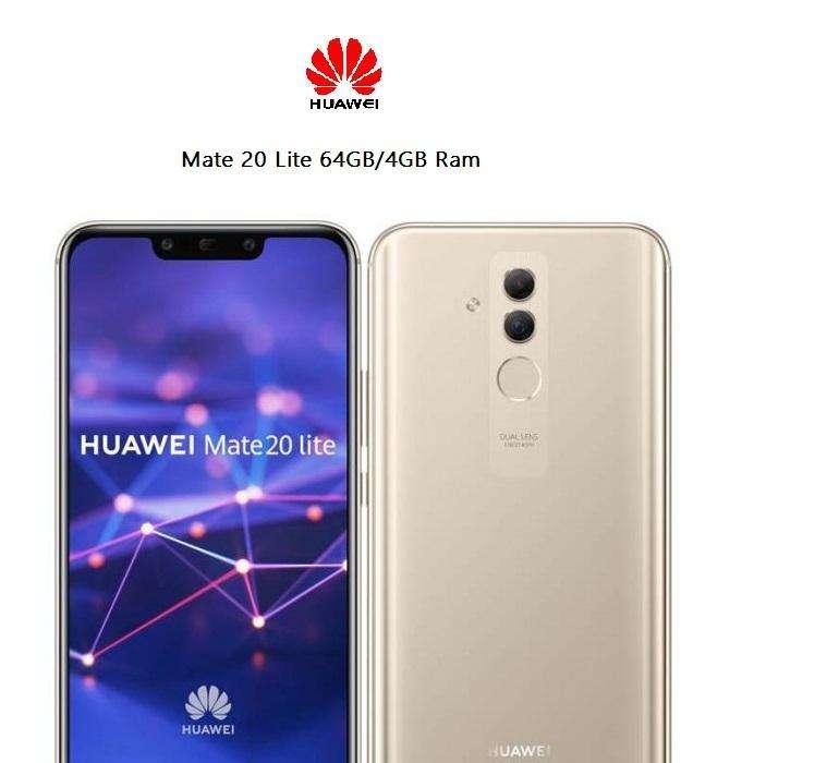 Huawei Mate 20 Lite 64GB TIENDA FISICA, NUEVO Y SELLADO, FACTURA LEGAL