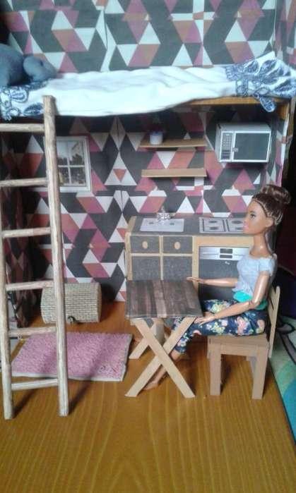 Maqueta, Mini Apartamento Para Barbie