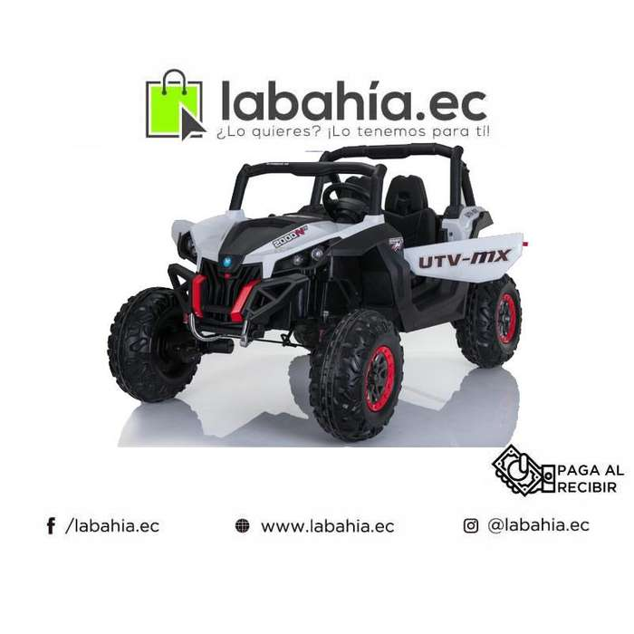 Carro a Bateria para niños tipo Jeep 2 asientos