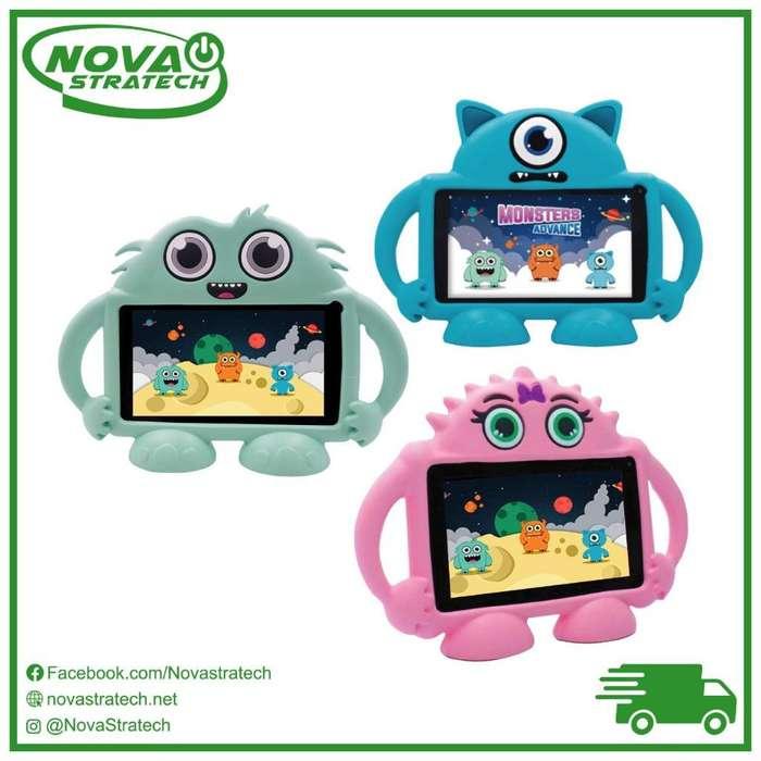 Tablet para Niños Kids Speedmind con Protector Incluido/ Wifi y Apps/ Gratis Envios A Todo El Pais