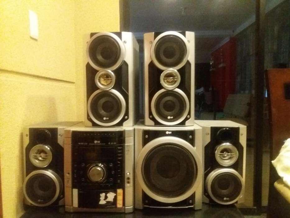 Equipo Sonido Lg Y Minicomponente Sony