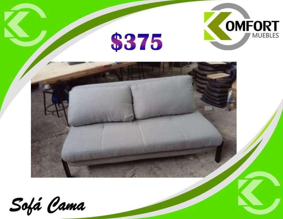 SOFA CAMA DE 2 PLAZAS TAMAÑO cama: 152*199*36cm.