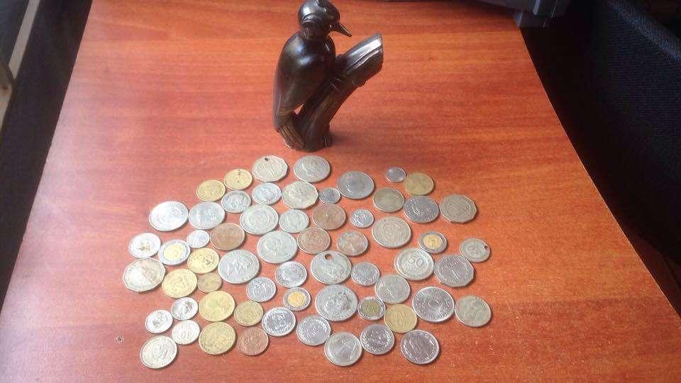 lote monedas varias