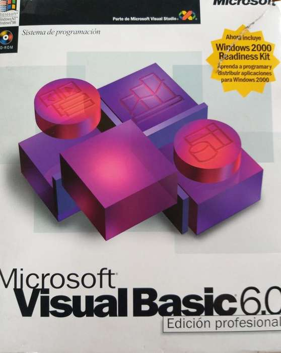 Paquete Visual Basic 6.0 Profesional Microsoft