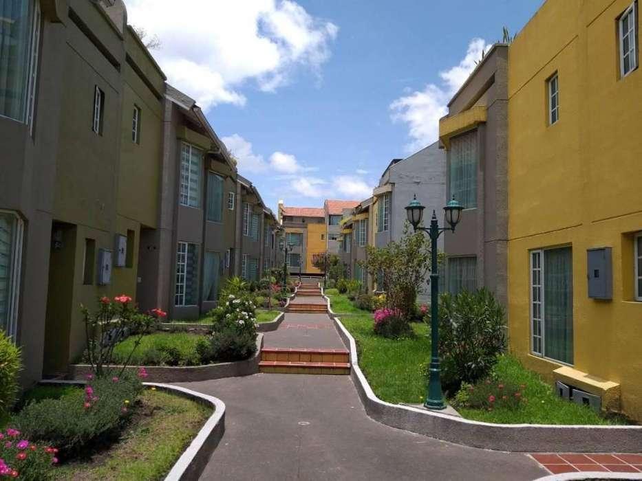 Casa de Arriendo, alquiler, renta, California Alta, Centro Norte de Quito, Conjunto Cerrado