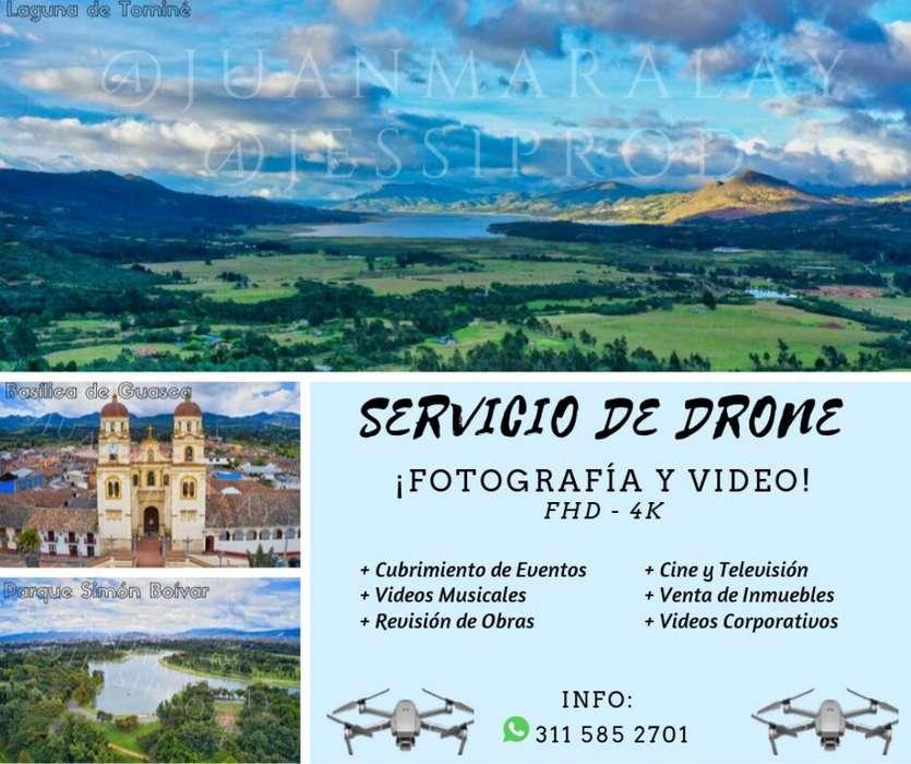 Servicio, Alquiler de Drone.