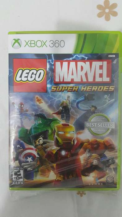 Marvel Lego Super Heroes Xbox 360 Nuevo