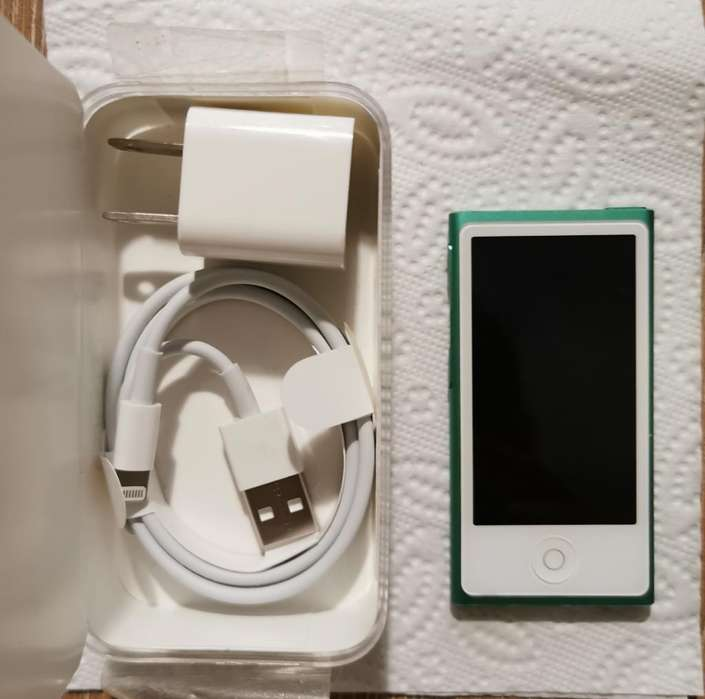 <strong>ipod</strong> Nano 16gb Green