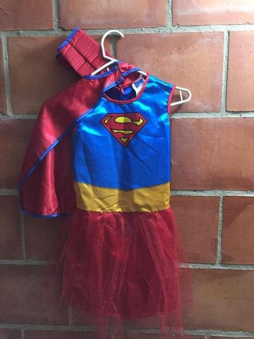 Disfraz de Supergirl Talla4