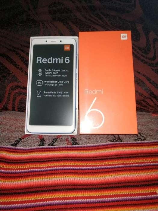 Xiaomi Redmi 6 32 Gb Azul Nuevo en Caja