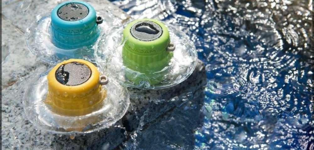 Altavoz Portátil Bluetooth Resistente Al Agua Aquajam Mini