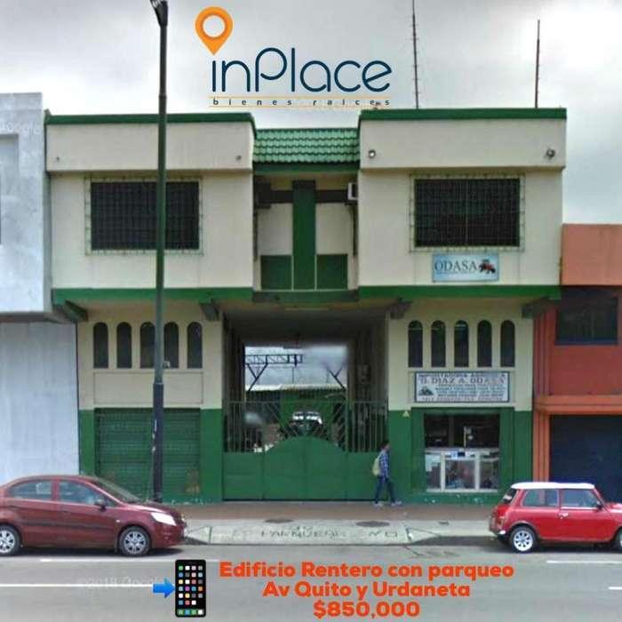 Venta de Edificio Comercial en la Av. Quito y Padre Solano, Centro de Guayaquil
