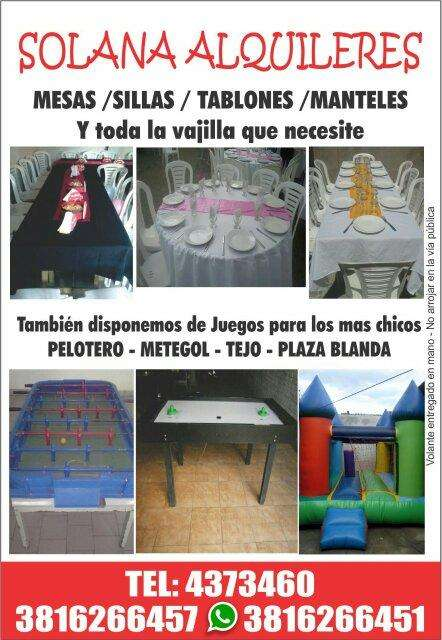 Alquiler De Silla Tucuman Servicios Tucuman