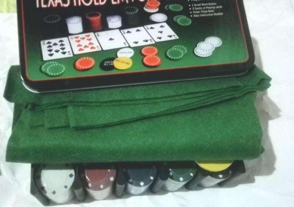 Set de 200 Fichas de Poker
