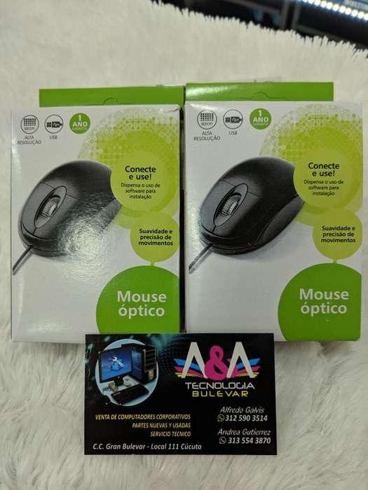 Mouse Usb Nuevos