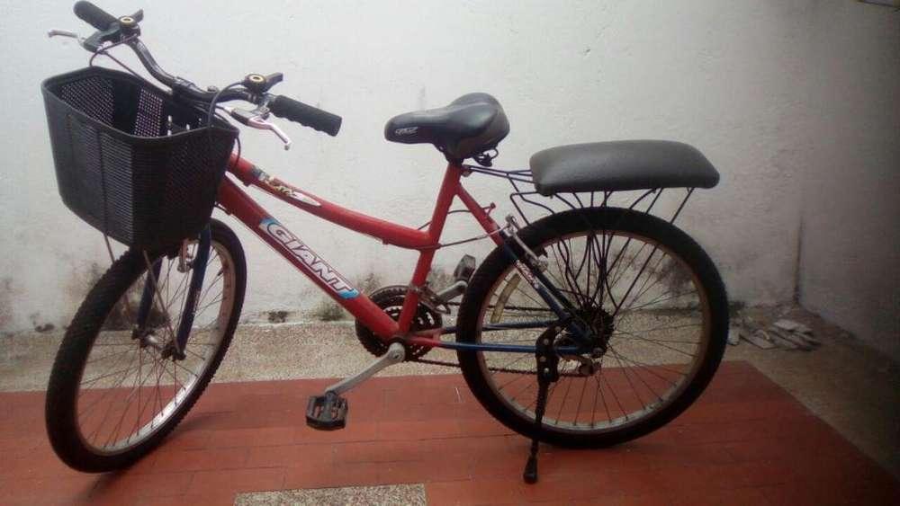 Bicicleta todo terreno bonita
