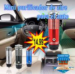 Mini purificador de aire para el auto