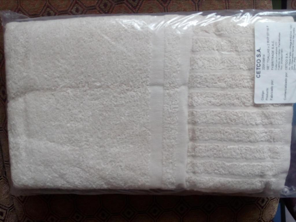 Nuevo Set toallas x2 RXP