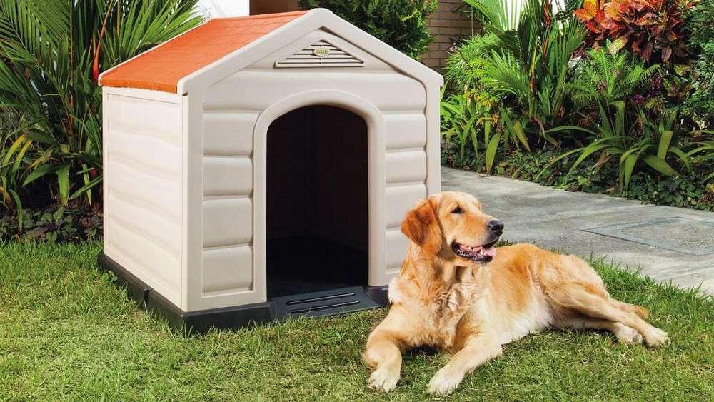 Casa Para Perros Grandes De Plastico Rimax