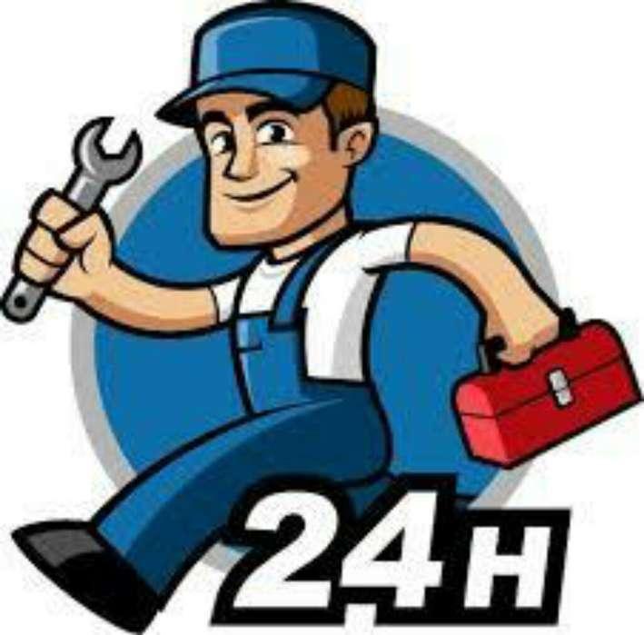 Plomero Gas Trabajos Garantizados 24 Hs