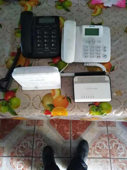Se Vende 2 <strong>router</strong> Y 2 Teléfonos Fijos