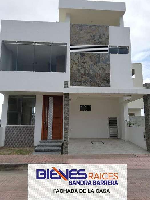 Hermosas casas en Urb Privada cerca a todo en Machala (CASAS DE 4 DORMITORIOS)