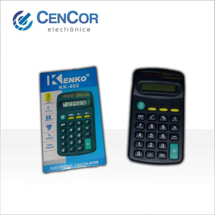 Calculadora Kenko Kk402! CenCor Electrónica