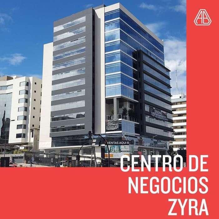 Oficina de Arriendo de 62m2 en Centro Corporativo Zyra - 6 de Diciembre y Portugal - Centro Norte