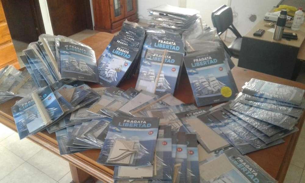 Vendo colección completa Fragata Libertad