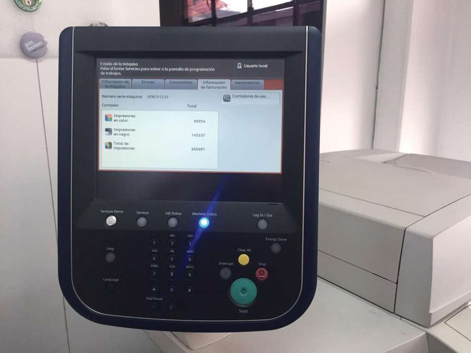Xerox Color 560 Production Printer con Fiery Externo