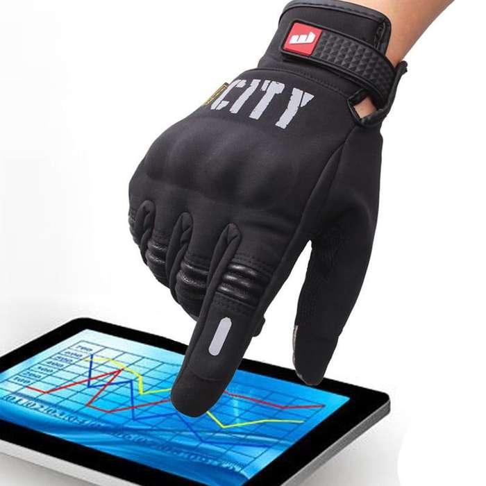 Guantes para Motos touch Tactil