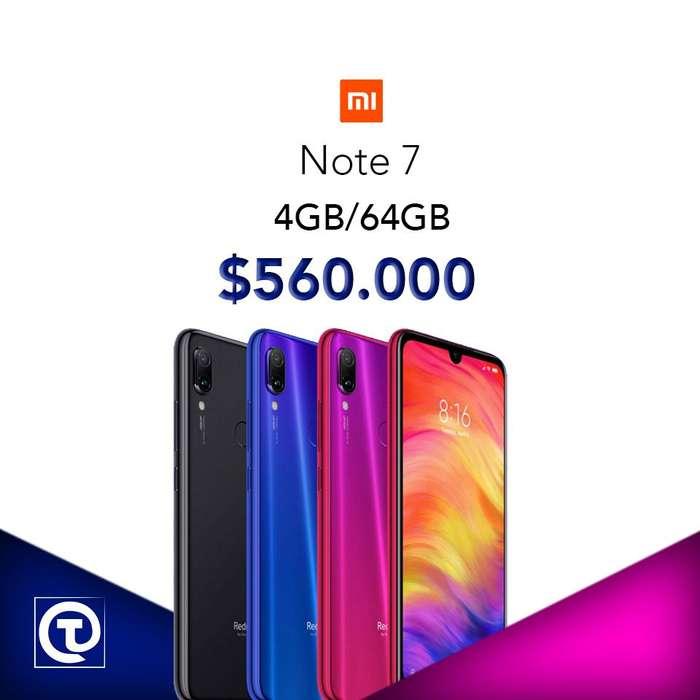 Xiaomi Note 7 4GB/64GB, Somos TIENDA FÍSICA,disponemos mas referencias, nuevos, sellados, con garantía, Te esperamos.