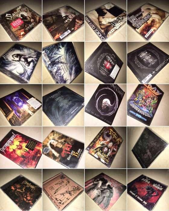 REMATES DE CDS DVDS BLUE RAY REVISTAS CAMISETAS DE METAL
