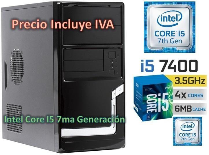 Computadora Cpu Intel Core I5 3.0 7ma Gen 2tb 4gb I7 PRECIO INCLUYE IVA ENTREGA A DOMICILIO
