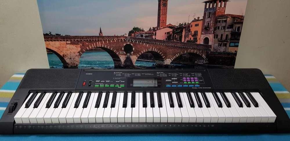 ¡¡¡OFERTA 24 Y 25 DE AGOSTO!!! Piano / órgano eléctrico CASIO CTK3400S de 5 escalas TOTALMENTE NUEVO