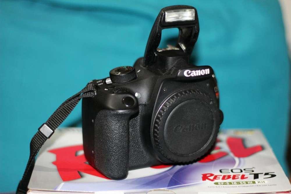 Camara Canon Reflex Eos T5