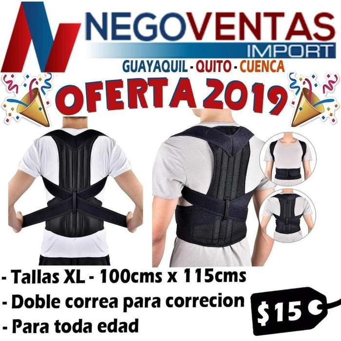 FAJA CORRECTOR DE POSTURA Y CARGA