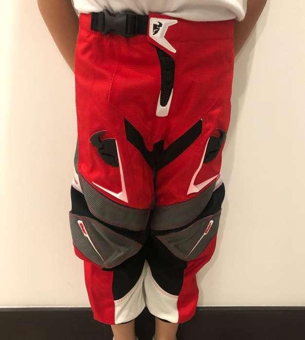 Pantalon Motocross Niños Thor, Obsequio!