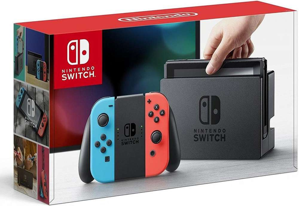 Consola Nintendo Switch Neon Nueva Sellada