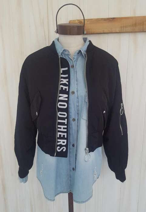 CAMPERA BOMBER TALLY WEIJL - Talle 34/Small