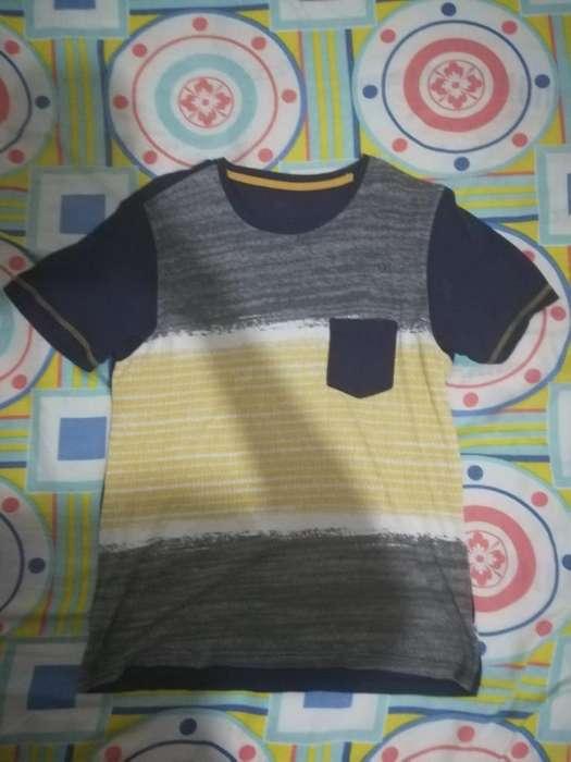 Camiseta Colorida Talla M