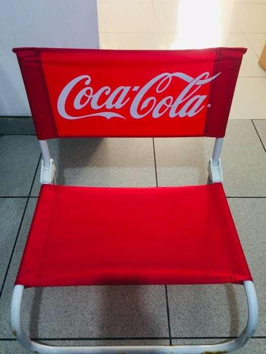 Silla Playa Coca Cola