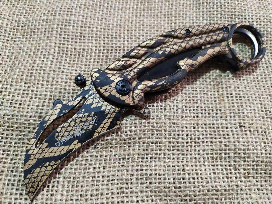 Cuchillo Navaja Kerambit Serpent Clip