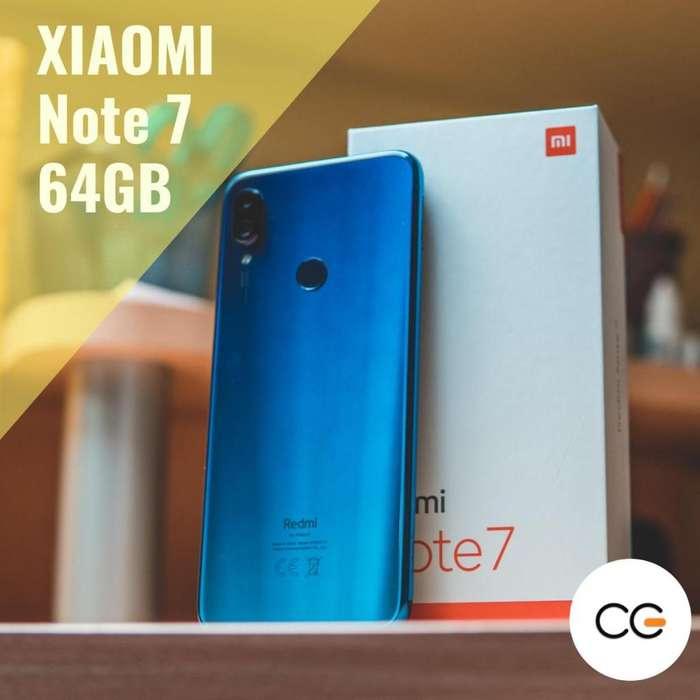 Celular Xiaomi Note 7 64GB ( Todas las tarjetas )