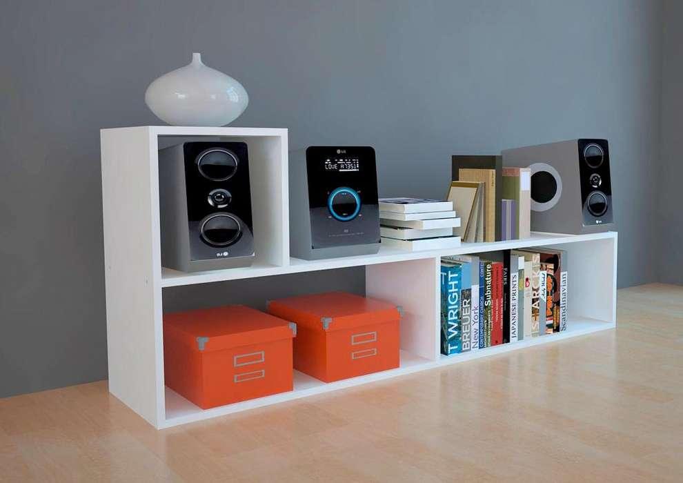 Modulo Rack L / Mueble Dormitorio / Separador / Divisor / COD.M.006