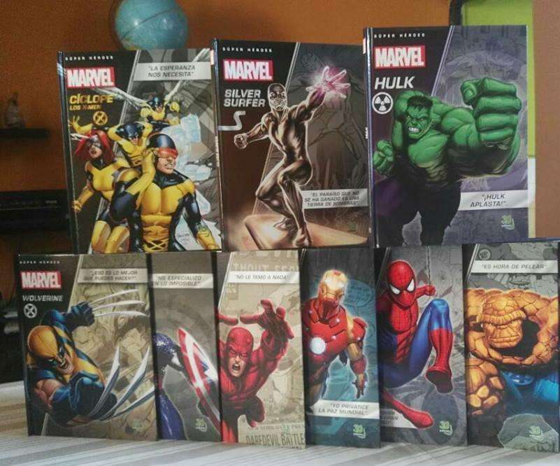 Libros Super Heroes Marvel