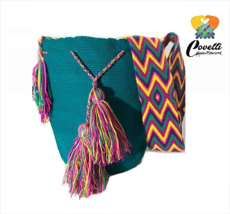 Mochilas Wayuuunicolor