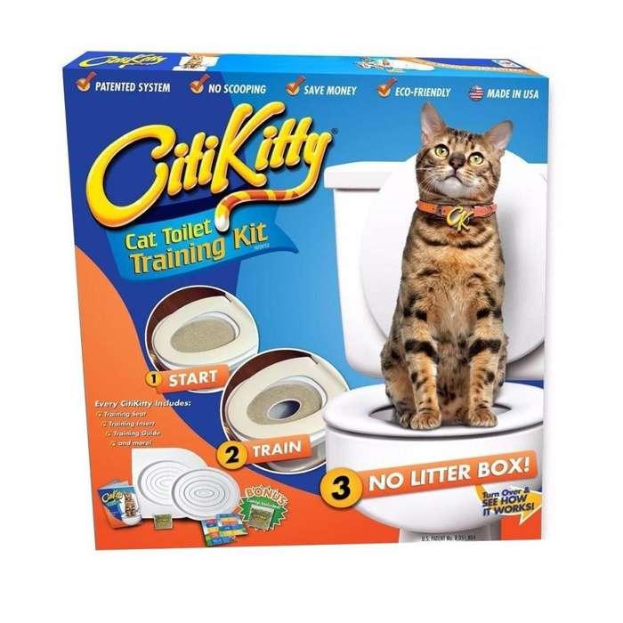 City Kitty Baño Para Gatos Entrena A Tu Gato A Ir Al Baño nuevo 3143393760