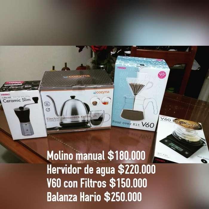 Se Vende Kit para La Preparación de Café